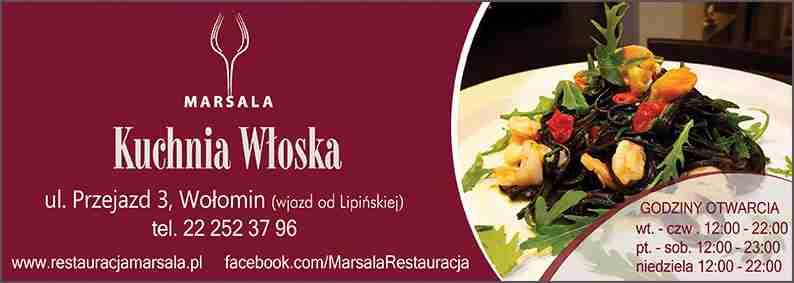 Restauracja Marsala Wolomin Restauracja Wloska Kuchnia Wloska Uslugi